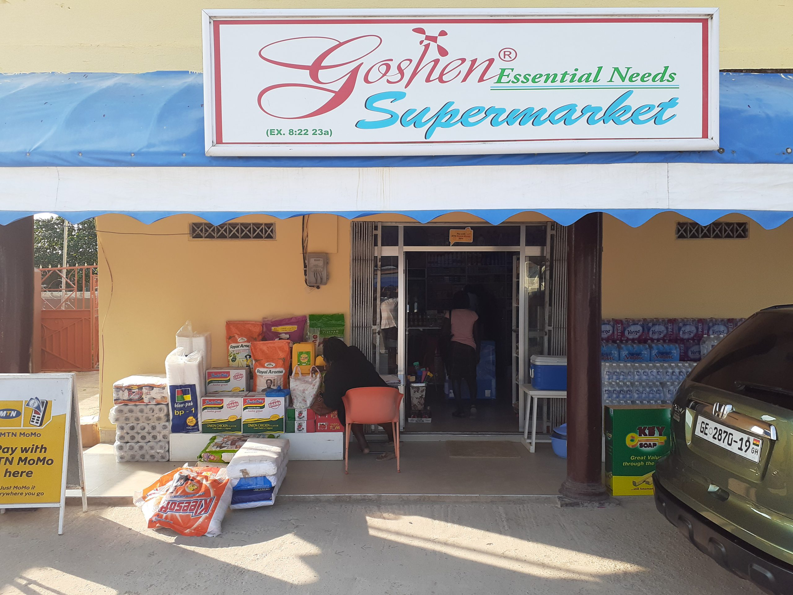 Goshen Supermarket: Making sure every sale is captured and avoiding employee theft.