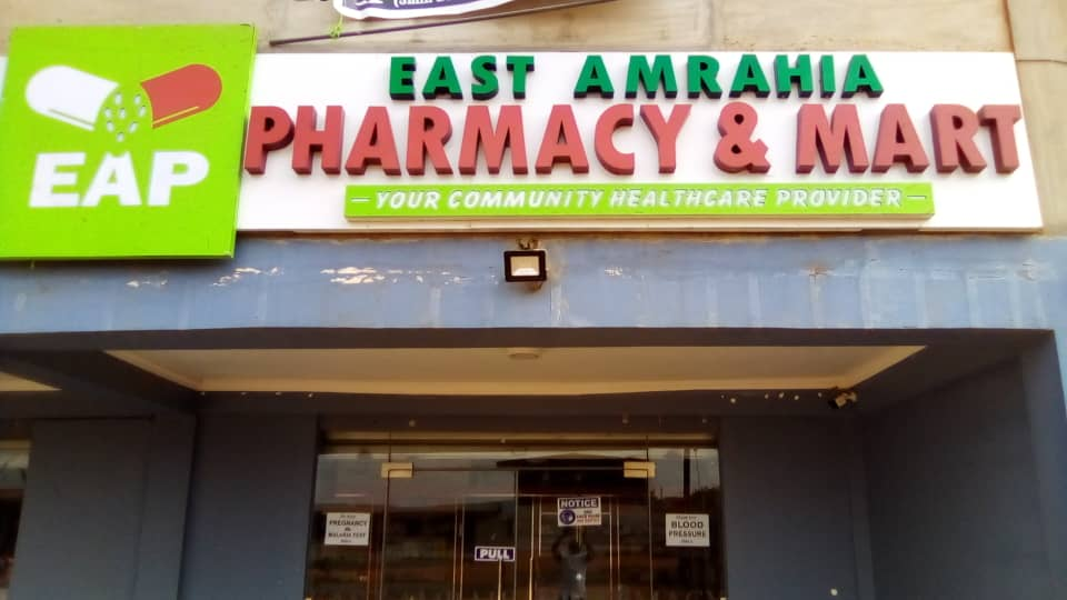 East Amrahia Pharmacy: Automating the process of tracking stock quantities.